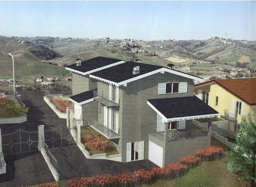 Montù Beccaria (PV) Villa in classe B con energie rinnovabili Rif. 115