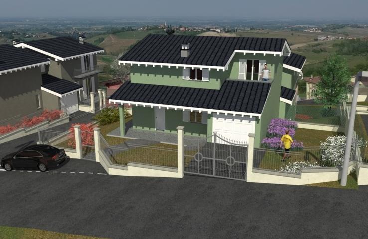 Montù Beccaria (PV) Villa in classe A con energie rinnovabili Rif. 115