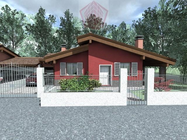 Stradella (PV) Zona Ospedale Villa  nuova costruzione su unico livello in Classe A Rif. 118