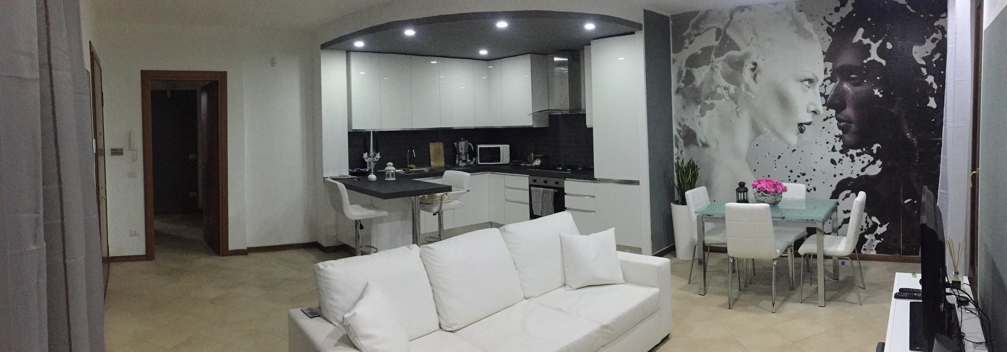 Stradella (PV) Appartamento trilocale con giardino box e posto auto Rif. 137