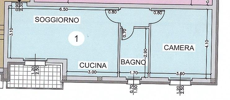 portalbera briglio p1 bilocale grande
