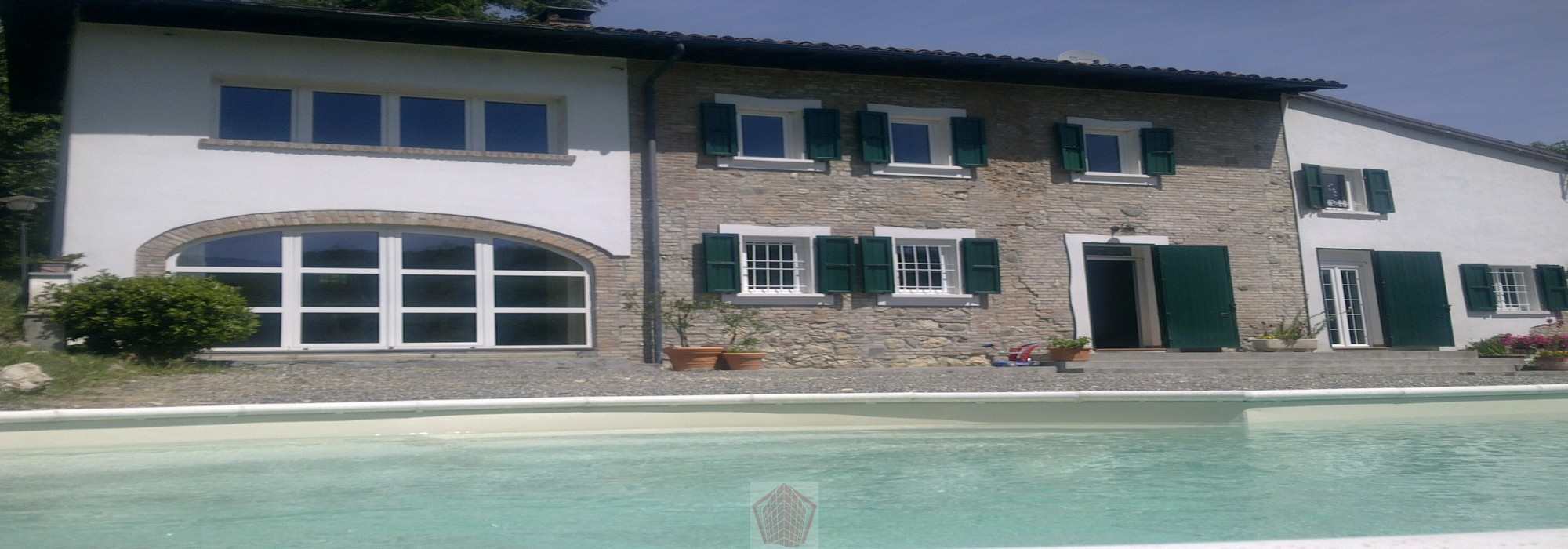 Canneto Pavese (PV) Casale con piscina in Oltrepo Pavese Rif. 221