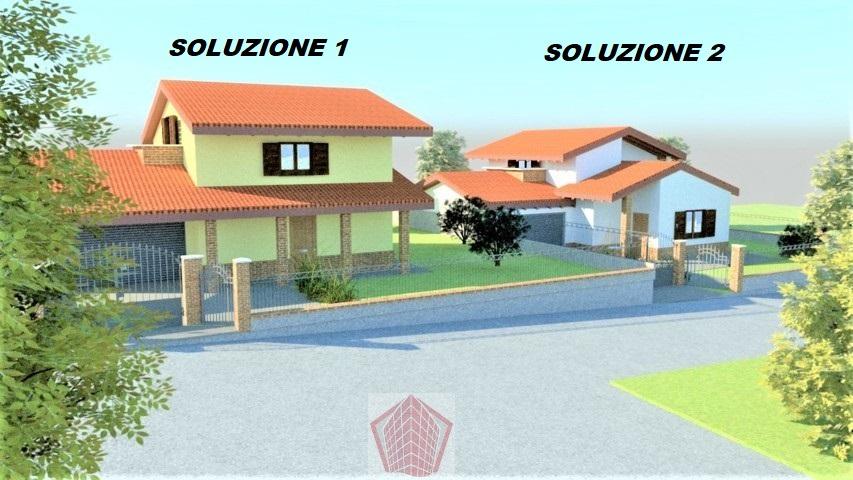Stradella PV Zona panoramica VENDITA Ville in costruzione in classe A Rif. 307