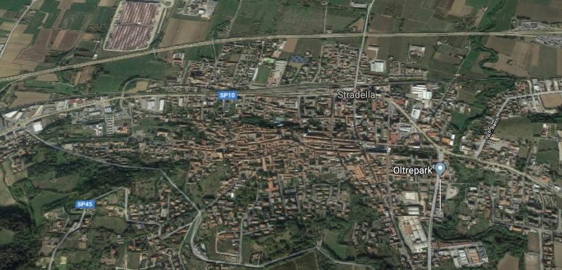Stradella (PV) Via Nazionale via Emilia VENDITA Area edificabile ad uso commerciale Rif. 348