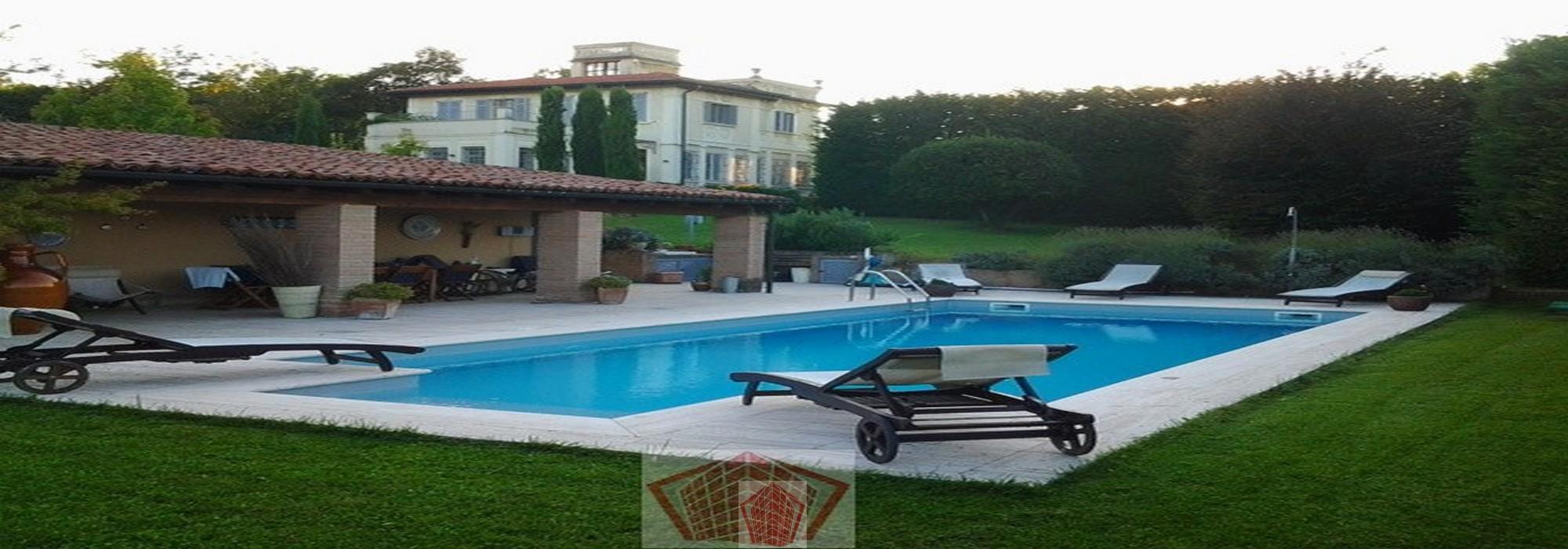 Stradella (PV) VENDITA Villa Liberty con parco e piscina Rif.371